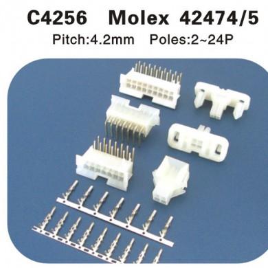 Molex42474 42475连接器 C4256