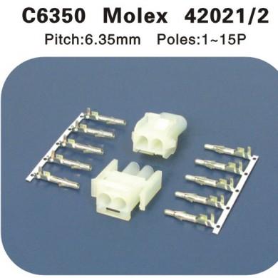 Molex42021 42022连接器 C6350