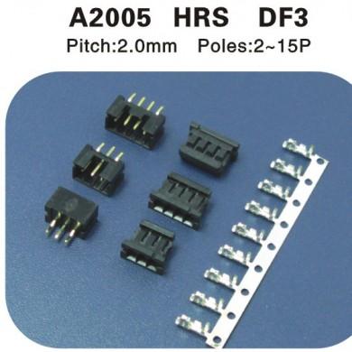 HRS DF3连接器 A2005