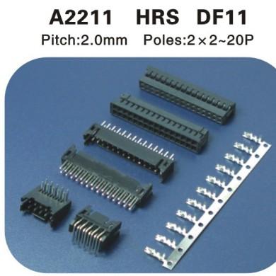 HRS DF11连接器 A2211