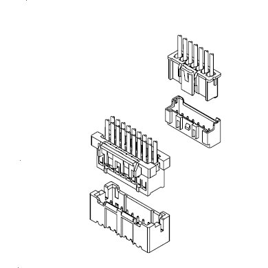 A2508系列2.50连接器