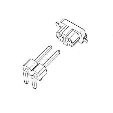 A2545系列2.54连接器