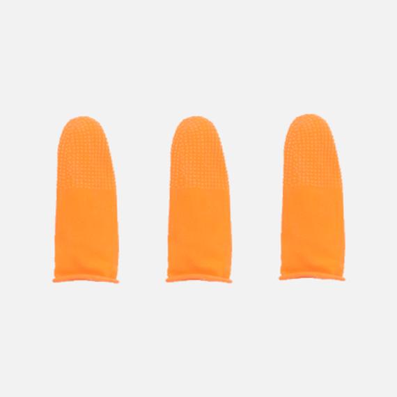 橙色防滑手指套