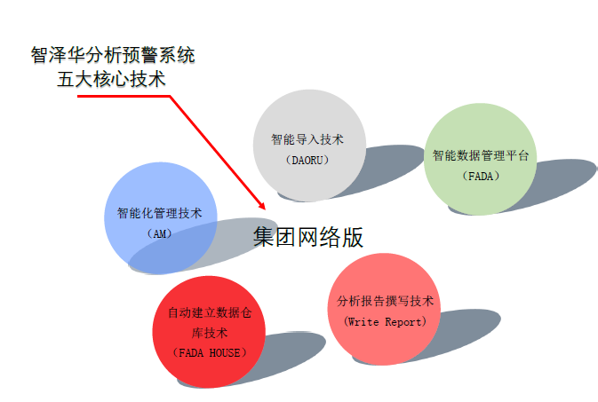 智泽华财务分析集团版