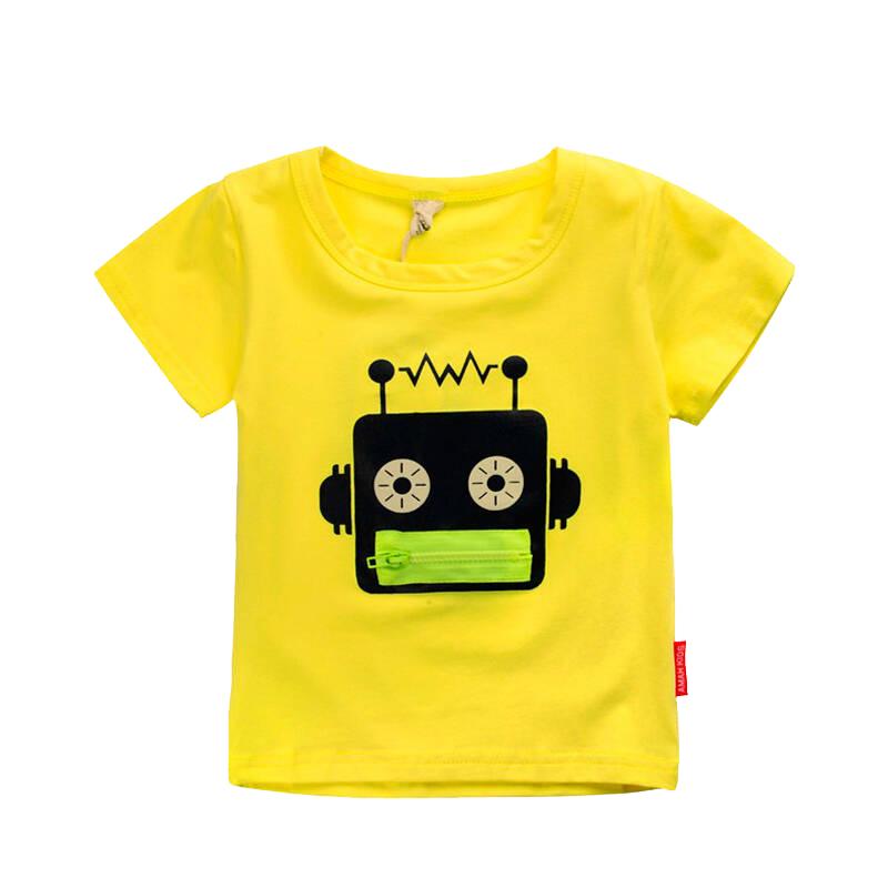 男童纯棉短袖T恤夏季 2020新款童装漫威联名儿童上衣潮