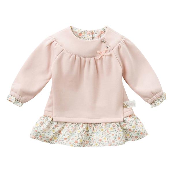 女童秋装新款小女孩套装宝宝波点长袖两件套