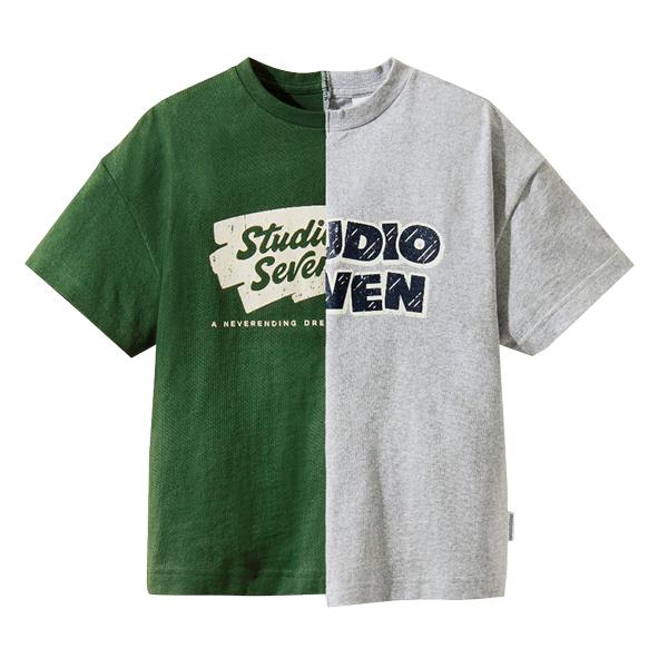 夏季童装男童女童T恤宝宝动物印花上衣短袖儿童T恤夏