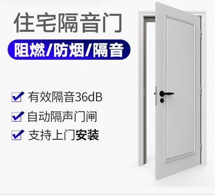 声博士 G45家用隔音门实木复合卧室门静音门影音室门录音棚隔声门