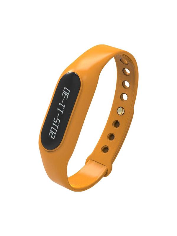 Orange smart bracelet
