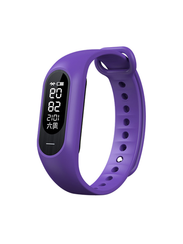 Purple smart bracelet