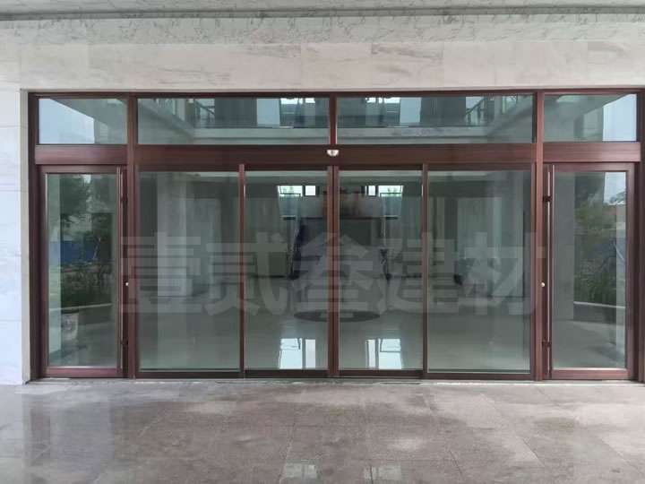 自动感应门 自动玻璃门