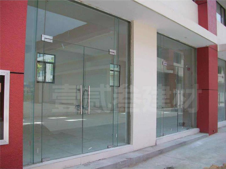 钢化玻璃门 玻璃推拉门