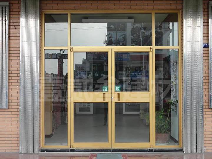 肯德基门 商铺玻璃门