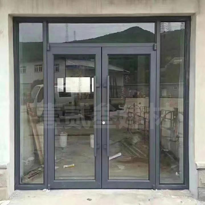 专卖店玻璃门 铝型材门
