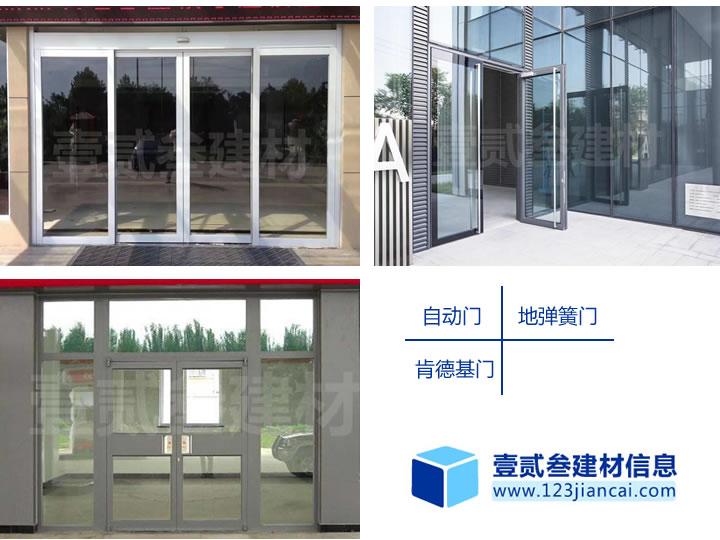南宁玻璃门安装【3种常见的玻璃门类型。】