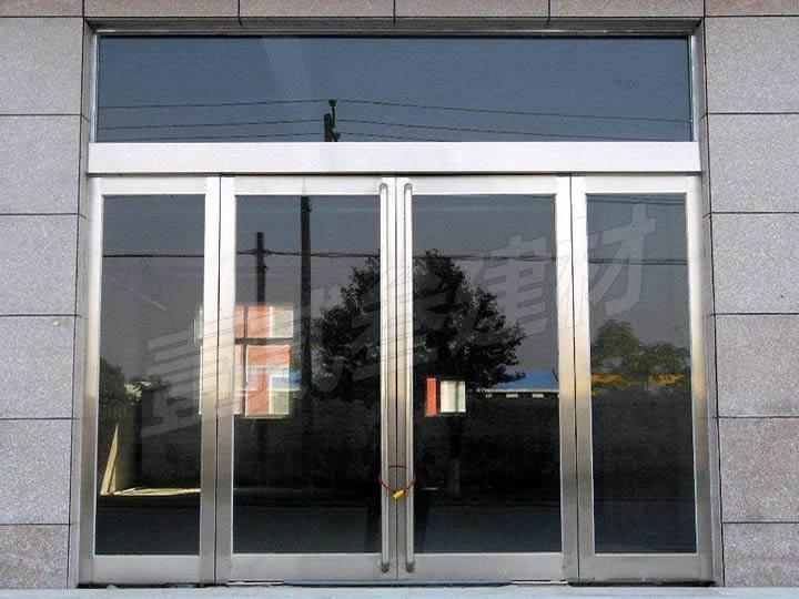 地弹门 不锈钢玻璃地弹门