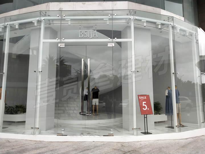 南宁铺面玻璃门