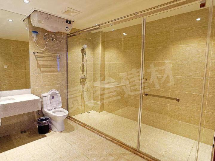 卫生间玻璃隔断 淋浴房隔断