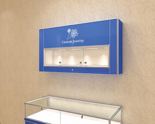 珠宝烤漆挂柜