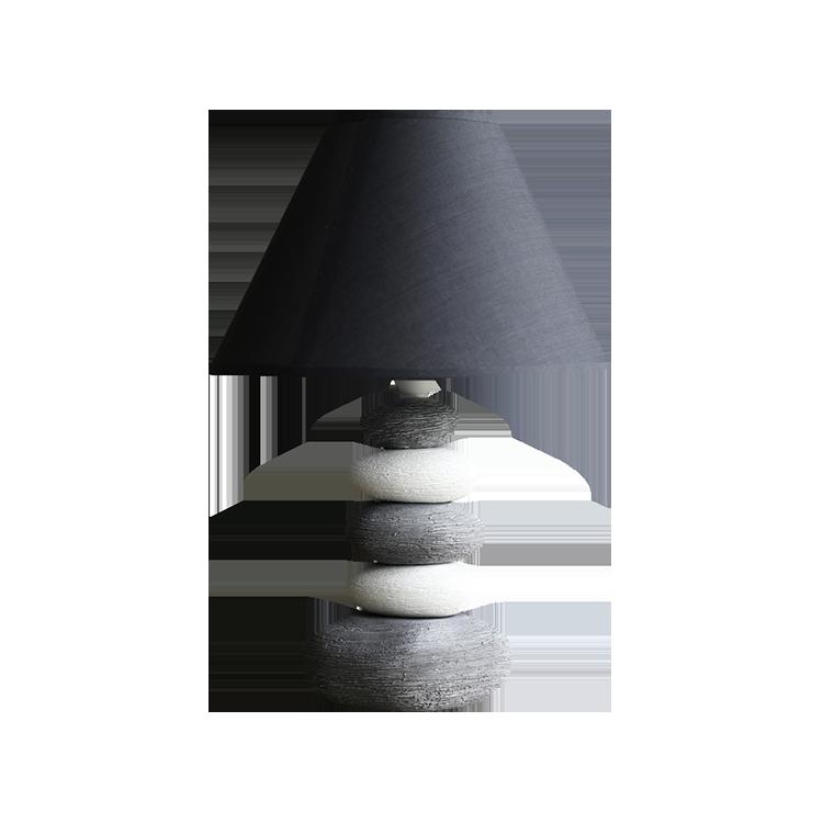 Personality stone lamp
