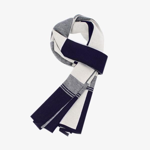 Warm plaid scarf