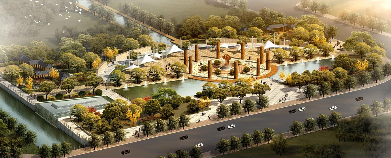 涧北公园景观设计