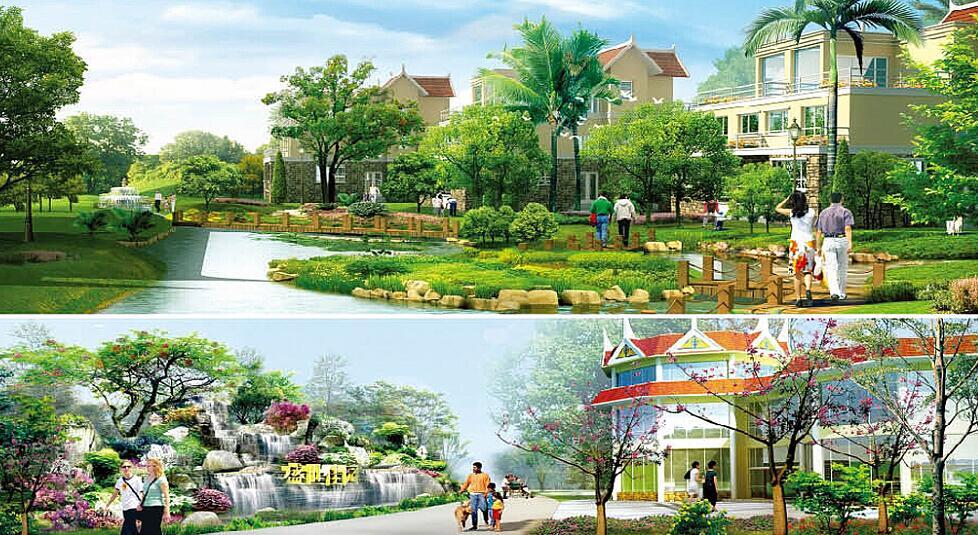 盛世佳园景观设计