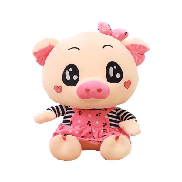 粉色小猪公仔设计