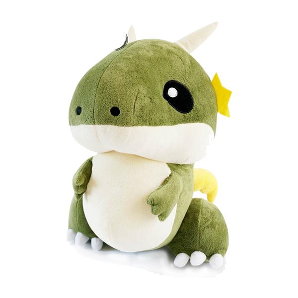 绿色可爱小恐龙