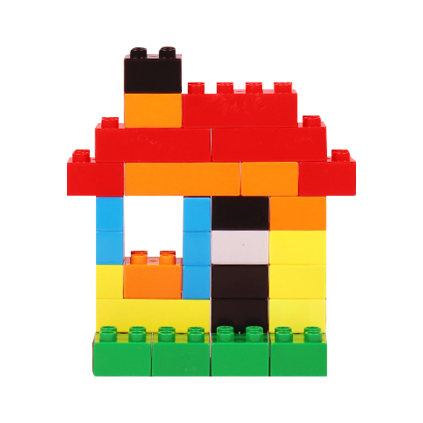 儿童大颗粒积木拼装
