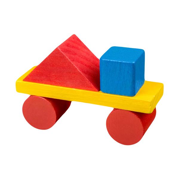 玩具手推车积木