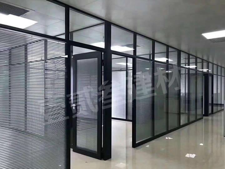 玻璃百页隔断 办公室玻璃隔断