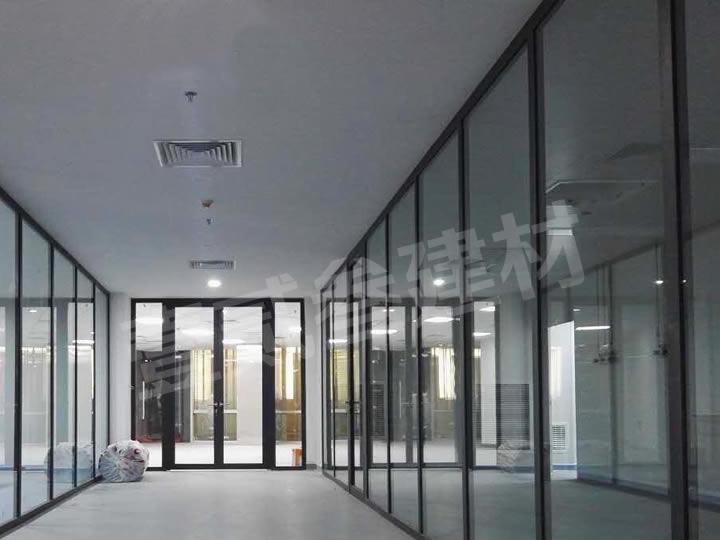 玻璃隔墙 办公室玻璃隔断 高隔间