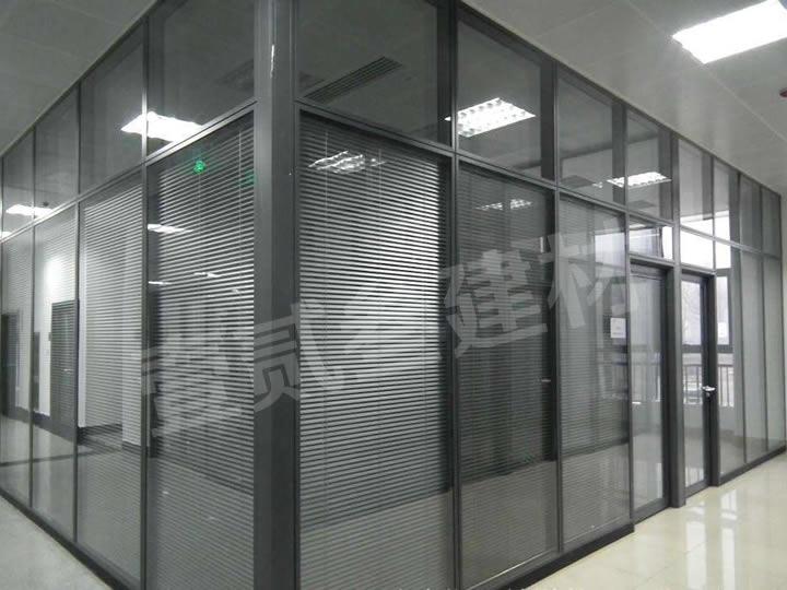 玻璃高隔墙 写字楼隔断 办公隔断