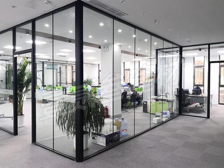 办公玻璃隔断 写字楼隔断