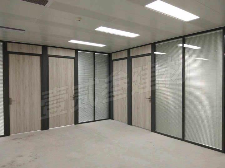 办公室百页隔断 玻璃隔断墙