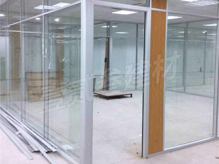 铝合金隔断 铝合金玻璃隔断