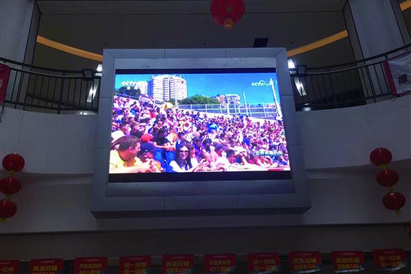 商场广告LED显示屏