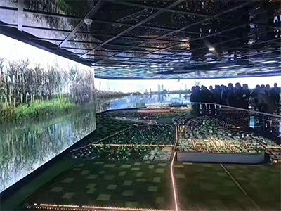 城市规划馆室内全彩LED显示屏