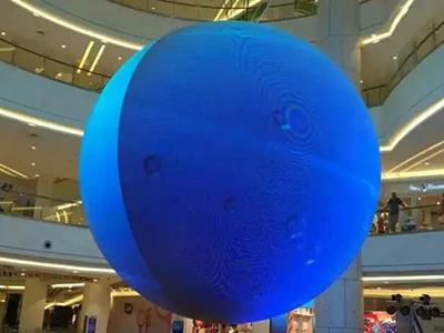 商场球形LED显示屏