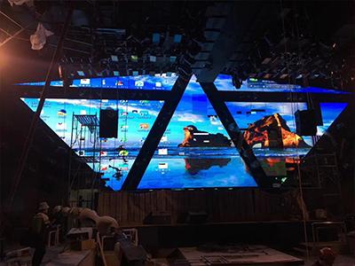 酒吧创意背景LED显示屏