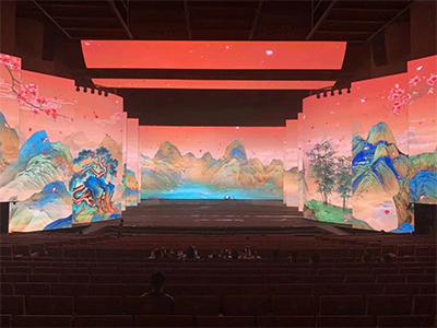 剧院舞台租赁LED显示屏