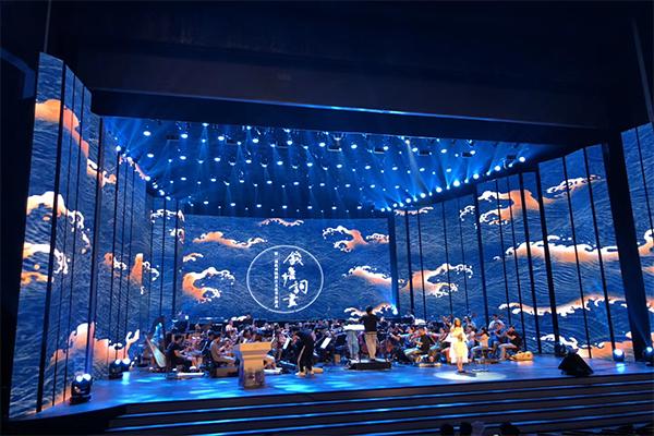 大型音乐会活动现场LED显示屏