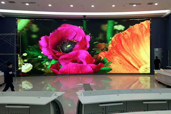 酒店大宴会厅弧形LED显示屏