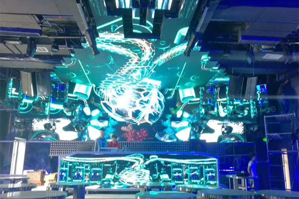上饶酒吧夜场创意LED显示屏