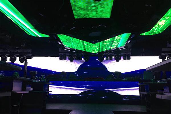 成都酒吧夜场创意LED显示屏