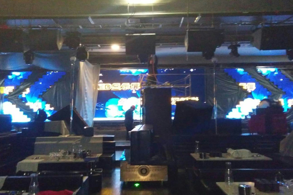 义乌演艺酒吧LED显示屏