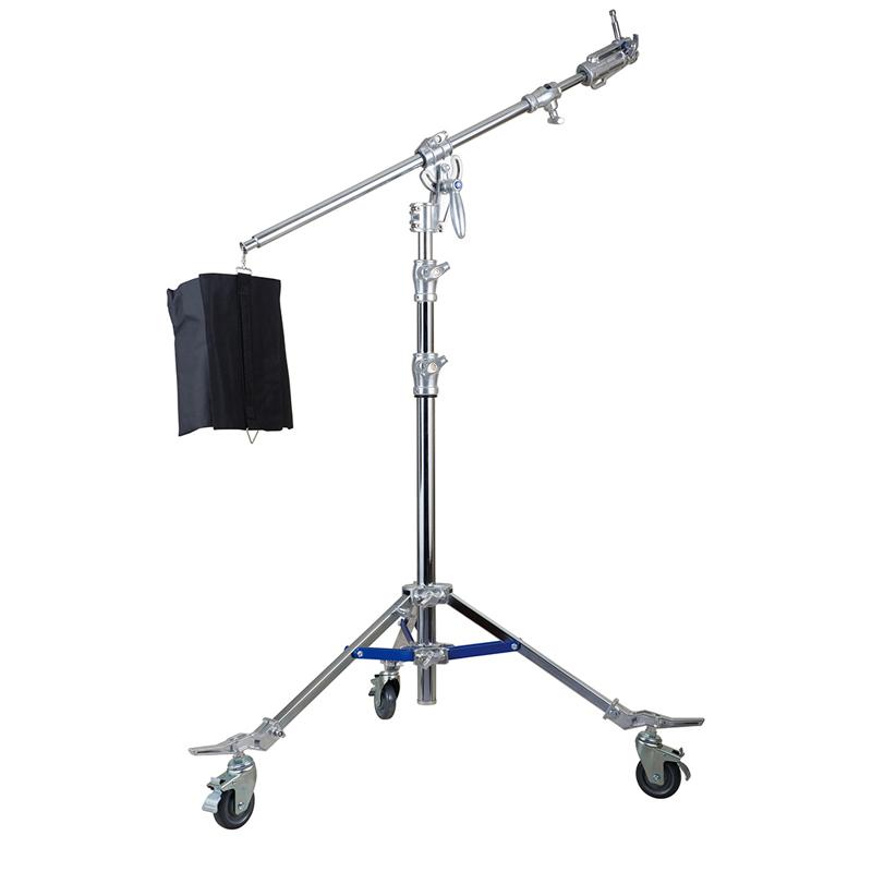 钢质斜臂灯架 DM-8