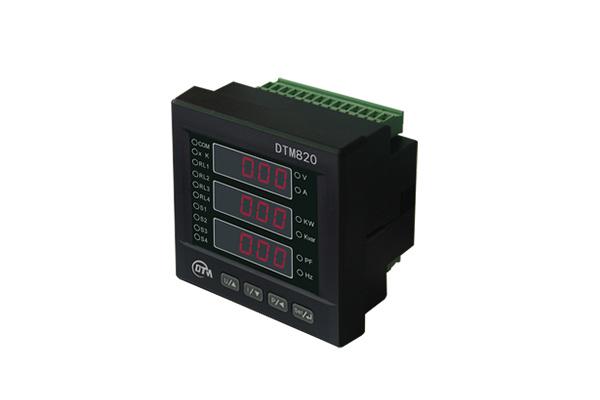 DTM820三相智能电力仪表