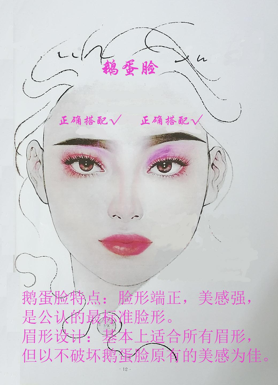广州白云区半永久纹绣培训学校/眉形设计/各种脸型和眉形的正确搭配方案
